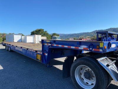 2014 Ledwell LW48HT2 48' Drop Deck Equipment Trailer I Charter Trucks